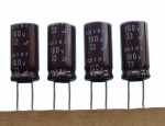 [10szt] 33uF 160V LOW IMPEDANCE EKMX161ETD330MJ20 NIPPON