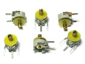 [5 pcs] 007-1891-010 Trimmer Capacitor 1.5-10pF D=7.5mm DAU