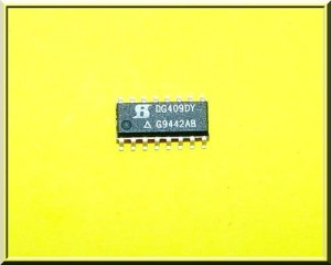 [1szt] DG409DY MULTIPLEXER ANALOGOWY SILICONIX