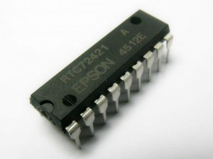 [1szt] RTC72421A Real Time Clock DIP18 EPSON
